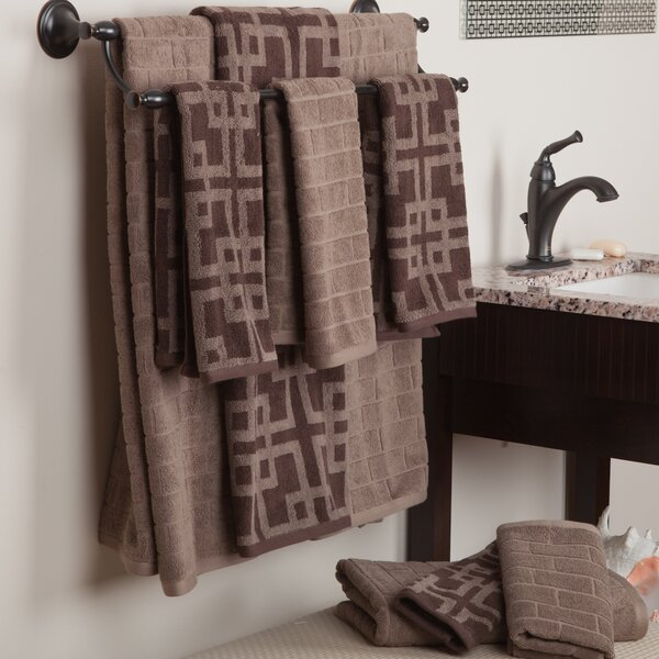 Brook 3 Piece 100% Cotton Towel Set by Wade Logan